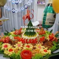Nasi Tumpeng Kuning 25 org (55cm)