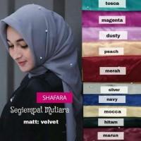 Model baru Grosir hijab instan / kerudung segi empat mutiara Original