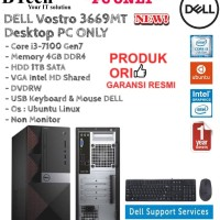 DELL Vostro 3669MT PC ONLY Core i3-7100/4GB/1TB/VGAIntel/DOS