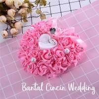 Tempat Bantal Cincin Pernikahan Tunangan Lamaran / Wedding Ring Bearer