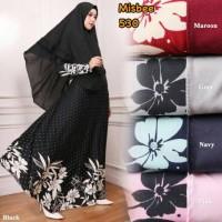 baju muslim wanita [Asera] 04 - GESER GAMBAR BANYAK WARNA GAMIS