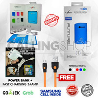 PowerBank Original Samsung Cell Future + Fast charger 3.Amp