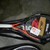 Raket Tenis Wilson Blx Senar (Free Tas) TS21 Murah