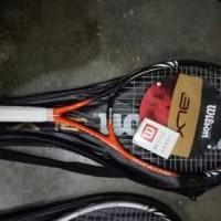 raket tenis wilson BlX senar TS41 Murah