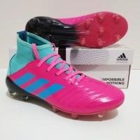 SEPATU BOLA Adidas PREDATOR Boots 18 FG Sol Warna (Pink Tosca)