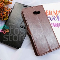 Samsung A5 2017 A520 Leather Flip Wallet Case Cover