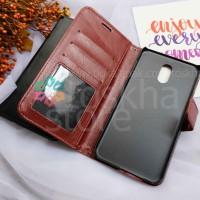 Wallet Case Samsung J7 PLUS C7 2017 C8 Flip Case Leather Card Slot