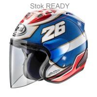 Arai SZ-RAM 5 Pedrosa Samurai Helm Half Face -