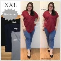 BAJU ATASAN WANITA Blouse Jumbo Baju Atasan Wanita Big Size Ukuran