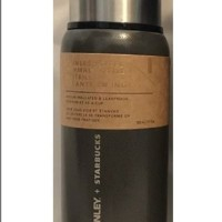 Starbucks & STANLEY Stainless Steel Thermal Bottle 16oz Grey