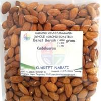 Almond Roasted (Kacang Almond Panggang) Tanpa Cangkang Size Besar 500g