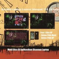 Garskin Laptop Lenovo Ideapad 110 14 inchi motif Razer2 - Free Custom