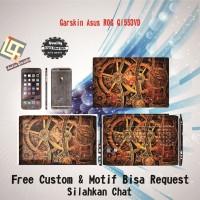Garskin Laptop Asus Rog GL553VD motif Steampunk2 - motif bisa request