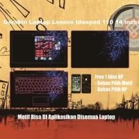 Garskin Laptop Lenovo Ideapad 110 14 inchi motif Razer - Free Custom