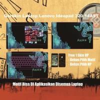 Garskin Laptop Lenovo Ideapad 320 motif Razer 3 - motif bisa request