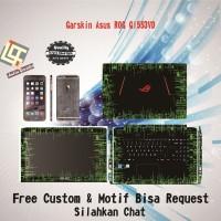 Garskin Laptop Asus Rog GL553VD motif Circuit4 - motif bisa request