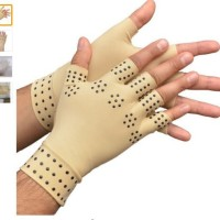 Sarung Tangan Terapi / Magnetic Therapy Gloves support Hand Massager