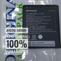 Baterai batre lenovo A6000 A6000 plus BL242 Original 100%