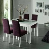 meja makan minimalis (Furniture kursi tamu lemari meja rias bufet)