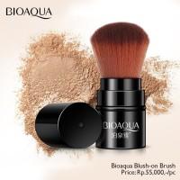 Bioaqua makeup brush kuas blush on tabung bedak tabur kabuki