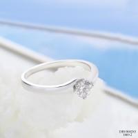 Cincin Wanita / Cincin Berlian / Emas Putih DRV000283 V&Co Jewellery