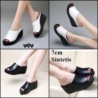 Harga promo sandal sepatu wanita wedges pesta kondangan | Hargalu.com