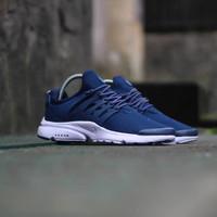 Sepatu Nike Air Presto Navy   Biru Cowok Pria Running Gym Fitness b988badcc5