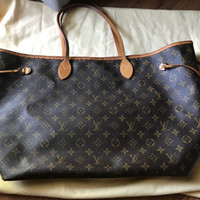 Tas Louis Vuitton Neverfull GM Monogram Yy