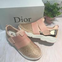 Sepatu Wanita IMPORT DIOR Sneakers Sport Kets