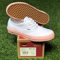 22ad9d0adb0 SEPATU SNEAKERS WANITA VANS AUTHENTIC WOMEN WHITE PINK ORIGINAL BNIB