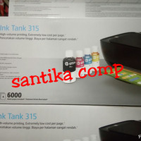 PRINTER HP INK TANK 315 PRINT SCAN COPY INFUS ORIGINAL