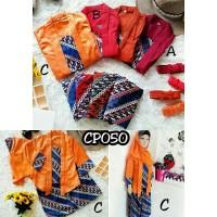 CP050 - lokal - Setelan Gamis kutu baru batik - baju muslim anak cewek