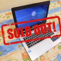 Laptop Asus K46CA Murah Core i7 gen 3 Ram 4GB HDD 500GB