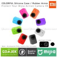 Xiaomi Mijia Action Camera 4K Silicone Case Silicon Silikon Lens Cap