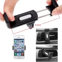 PEGANGAN HP (WORLD SMALLEST AIR-CON VENT HP HOLDER MOBIL) BUAT IPHONE 5 SAMSUNG NOKIA DLL