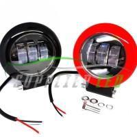 Promo Lampu Tembak Sorot Motor Mobil Led Laser Gun Tube Premium Lens