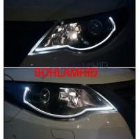 Dijual Led Drl 30Cm Lampu Alis Neon Motor Mobil 2 Warna 2 Mode Fitur