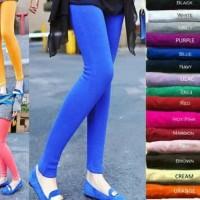 celana legging wanita bahan spandek rayon - manset legi Limited
