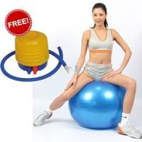 [ BONUS Pompa angin ] Gym ball size 65cm Bola fitness Yoga ball