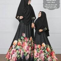 Coupel Ibu Dan Anak Gamis Couple Baju Ibu Anak Bunda Kids Mom Syari