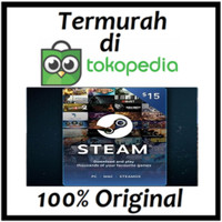 Steam+Wallet 15$ TERMURAH