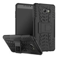 Hardcase Defender Armor Kick Stand Cover Case Casing HP Nokia 3 Black