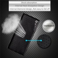 Softcase TPU Carbon Fiber Cover Case Casing HP Sony Xperia XA Ultra