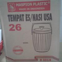 RICE / ICE BUCKET / TERMOS NASI / ES MASPION USA 26