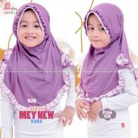 MiuLan Bergo Hijab Jilbab Kerudung Anak Polos Cantik Adem Rempel MEY