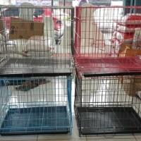 kandang kucing anjing ukuran P 60 x L 45 x T 50 musang kelinci otter