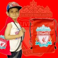 Tas Serut Liverpool Ransel Klub Liga Inggris Liverpool Bag MU Arsenal