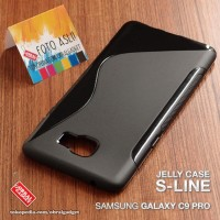 Casing HP Samsung Galaxy C9 Pro Softcase Silikon Casing JEQ Diskon