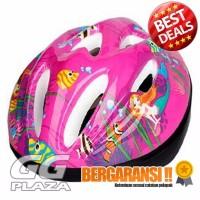 PROMO KUYOU Helm Sepeda Anak 3 8 Tahun Pink PALING MURAH