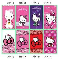 Stiker Kulkas 1 pintu 2 pintu Motif Kartun Hello Kitty